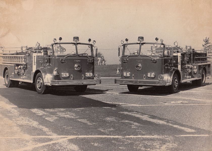 1972 Twin Seagrave Pumpers